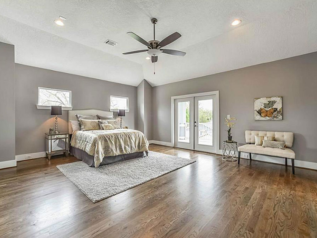 Example of architectural detail in this Master Suite.